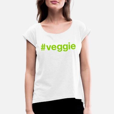 Veggie VEGGIE - Women's Rolled Sleeve T-Shirt