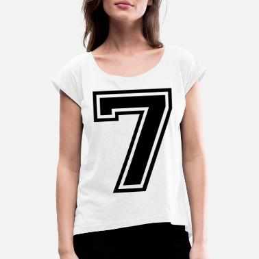 Seven Seven - Women's Rolled Sleeve T-Shirt