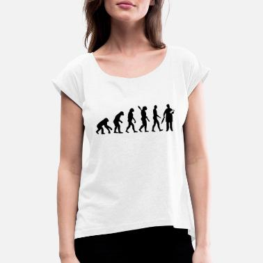 Kringle Evolution Bager - T-shirt med rulleærmer dame