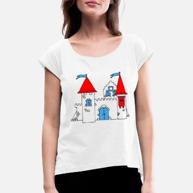 Medieval Medieval Castle - Women's Rolled Sleeve T-Shirt
