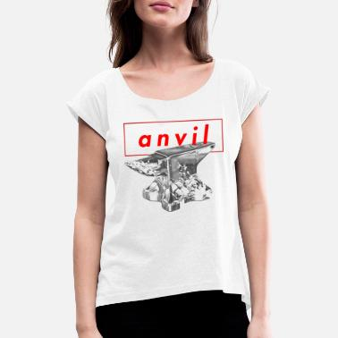 Anvil anvil - Women's Rolled Sleeve T-Shirt