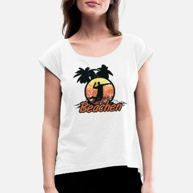 Beach Volley beach-volley - T-shirt à manches retroussées Femme