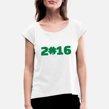2016 2016 - Women's Rolled Sleeve T-Shirt