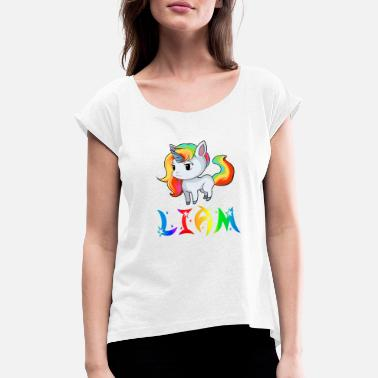 Liam Payne Unicorn Liam - Women's Rolled Sleeve T-Shirt