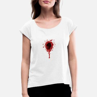 Wound wound - Women's Rolled Sleeve T-Shirt