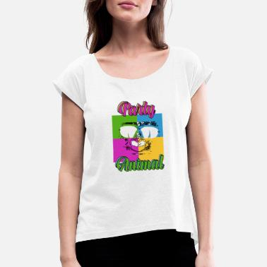 Clubbers Clubbers - Women's Rolled Sleeve T-Shirt