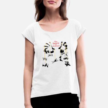 Spirit Animal The Spirit of Animals - The Spirit of Animals - Women's T-Shirt with rolled up sleeves