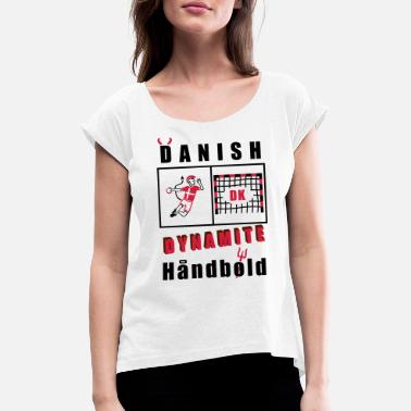 National Handball National Team Fanshirt - Women's Rolled Sleeve T-Shirt
