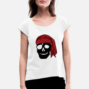 Buccaneers Pirate buccaneer gift - Women's Rolled Sleeve T-Shirt