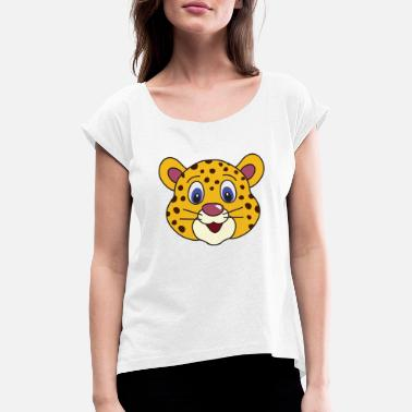 Cheetah Kids cheetah - Women's Rolled Sleeve T-Shirt