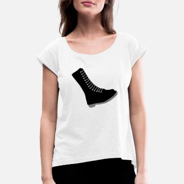 Boots Boot - Women's Rolled Sleeve T-Shirt