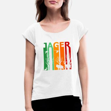 Hunter hunter - Women's Rolled Sleeve T-Shirt