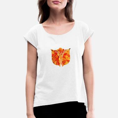 Flowercontest Tulip flowercontest - Women's Rolled Sleeve T-Shirt