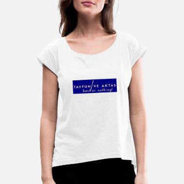 Ultraracon Fashion - Frauen T-Shirt mit gerollten Ärmeln