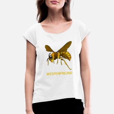 Wasp wasps friend - Women  39 s Rolled Sleeve ... e14773331679