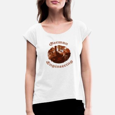 Brewery Brewery Engineering - Women's Rolled Sleeve T-Shirt