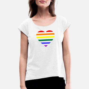 LGTBI 306 Design - Women's Rolled Sleeve T-Shirt