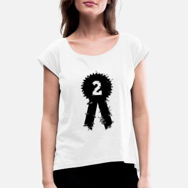 Award Award 2nd place award ceremony - Women's Rolled Sleeve T-Shirt