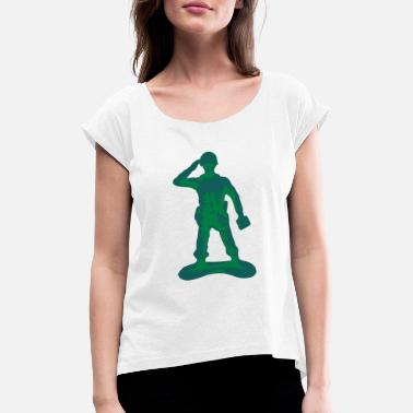 Toy Soldier - Women's Rolled Sleeve T-Shirt