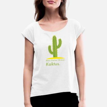 cactus - Women's Rolled Sleeve T-Shirt