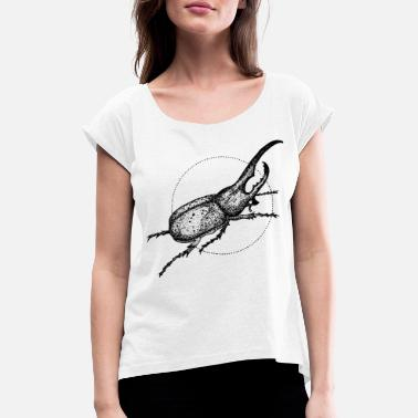 Beetle - Women's Rolled Sleeve T-Shirt
