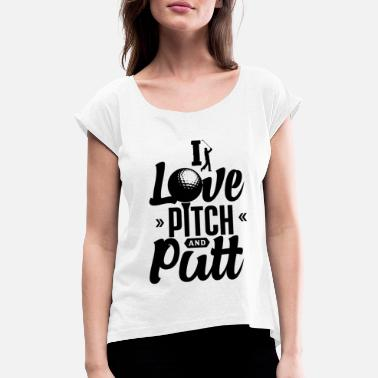 Andes Pitch and Putt Pitch and Putt Pitch and Putt - Camiseta con manga enrollada mujer