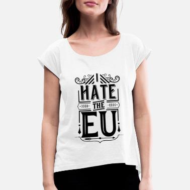 European Union European Union - Women's Rolled Sleeve T-Shirt