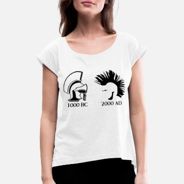 Ancient Ancient vs Punk - Women's Rolled Sleeve T-Shirt