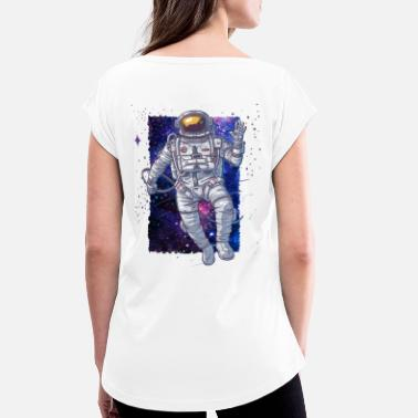 Spaceman Spaceman - Women's T-Shirt with rolled up sleeves