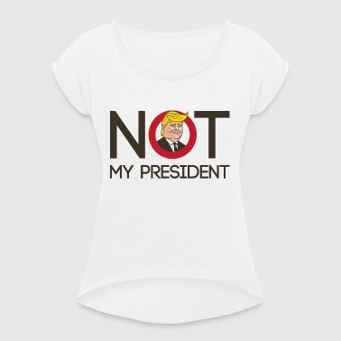 Trump - Women's T-shirt with rolled up sleeves