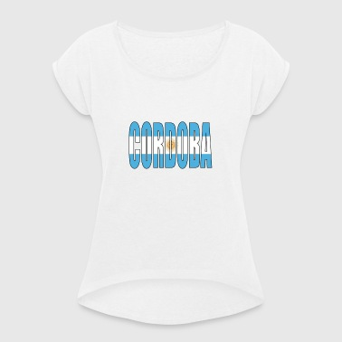 ARGENTINA CORDOBA - Women's T-shirt with rolled up sleeves