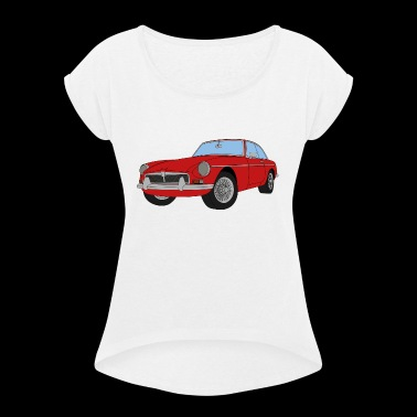 MGB COLOUR - Women's T-shirt with rolled up sleeves