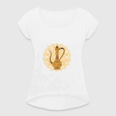 Oriental Style - Women's T-shirt with rolled up sleeves