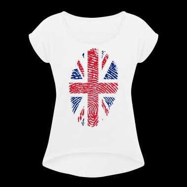 ENGLAND 4 EVER COLLECTION - Women's T-shirt with rolled up sleeves