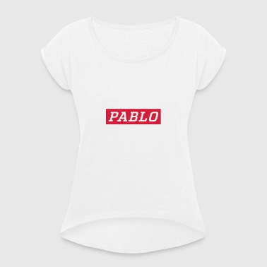 Pablo - Women's T-shirt with rolled up sleeves