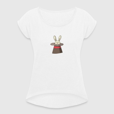 wizard - Women's T-shirt with rolled up sleeves