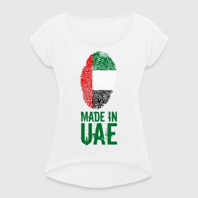Made In UAE / United Arab Emirates - Women's T-shirt with rolled up sleeves
