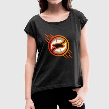 Esoterism Zodiac esoteric horoscope gift - Women's T-Shirt with rolled up sleeves