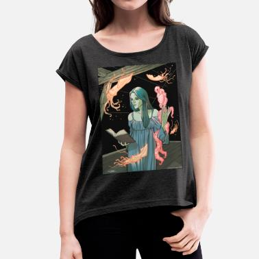 Lovecraft Lovecraft Heart - Camiseta con manga enrollada mujer