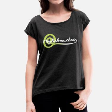 Devops Possible Online Marketing Digital Advertising - Women's T-Shirt with rolled up sleeves