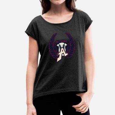 All-stars ALL STARS - Women's T-Shirt with rolled up sleeves