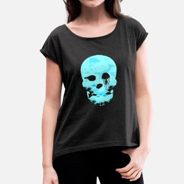 Dead Sea Dead Sea Tshirt ✅ - Women's T-Shirt with rolled up sleeves