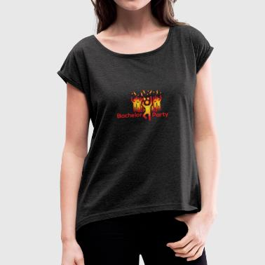 Bachelor Party Bachelors party - Women's T-Shirt with rolled up sleeves