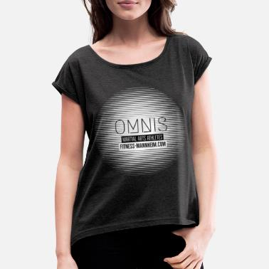 Martial arts athletes - Women's Rolled Sleeve T-Shirt