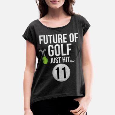 Hits Golf Fremtiden for Golf Bare Hit 11 - Dame T-shirt med rulleærmer