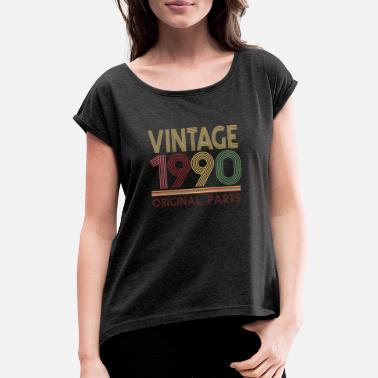 1990 Vintage 1990 Original parts - Women's Rolled Sleeve T-Shirt