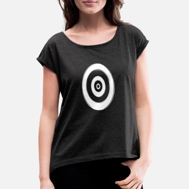 Portal Portal - Women's T-Shirt with rolled up sleeves