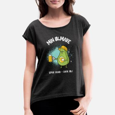 Beer Belly beer belly - Women's Rolled Sleeve T-Shirt