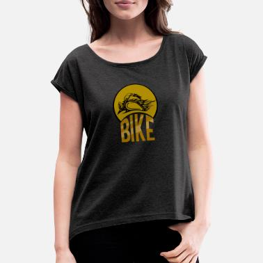 Cyclist Cyclist cyclist - Women's Rolled Sleeve T-Shirt