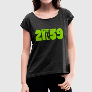 21-15-9 - Women's T-shirt with rolled up sleeves